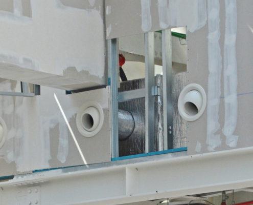 Centro Commerciale Laurentino, Roma - Direzione dei Lavori per gli impianti meccanici ed elettrici